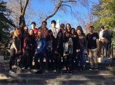 Seoyeong on the Model UN trip (Image courtesy of Seoyeong).