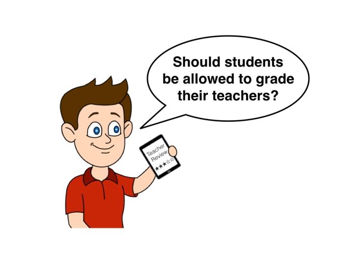 Students grading teachers